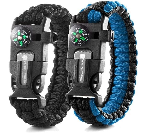 Emergency Paracord Multi Tool Bracelets