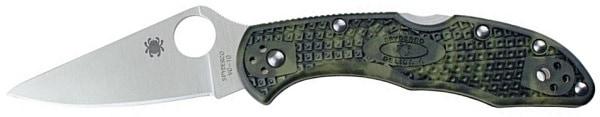 Spyderco Delica 4 Plain Edge Knife