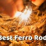 Best Ferro Rod - Starting a Fire with a Ferrocerium Rod and Scraper