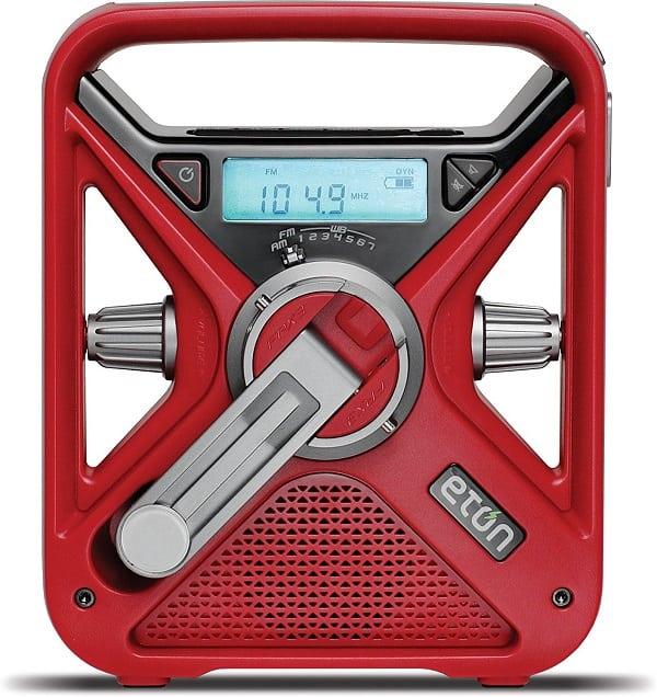 Red Cross Hand Crank Emergency Radio
