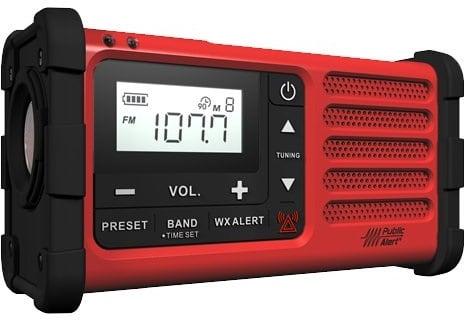 Sangean Weather Alert Emergency Radio