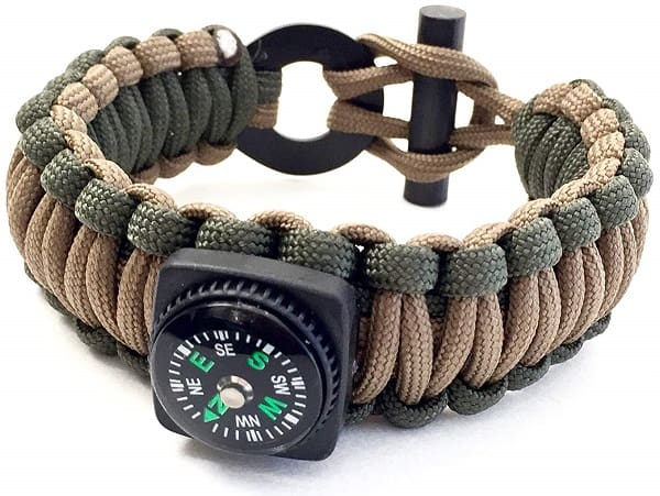 Survival Bracelet Ferro Rod
