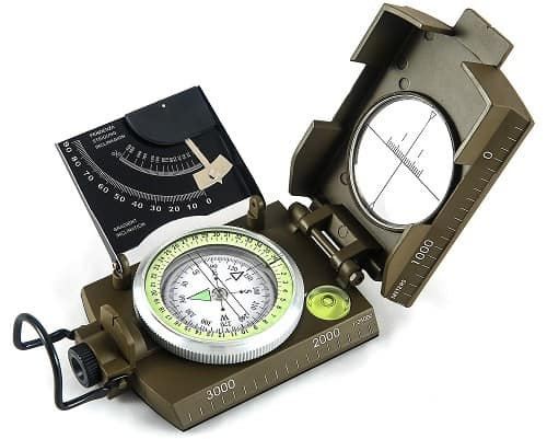 Eyeskey Multi-functional Sighting Compass for Hiking