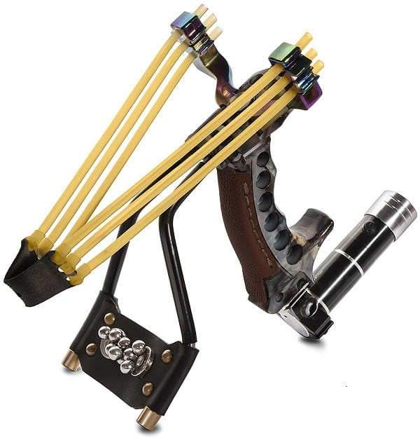 High Velocity Laser Slingshot