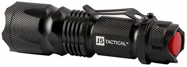 J5 Bright Tactical Flashlight