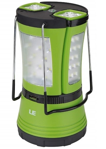 Lighting Ever Rechargeable LED Camping Lantern