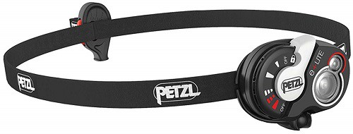 Petzl e plus lite emergency headlamp
