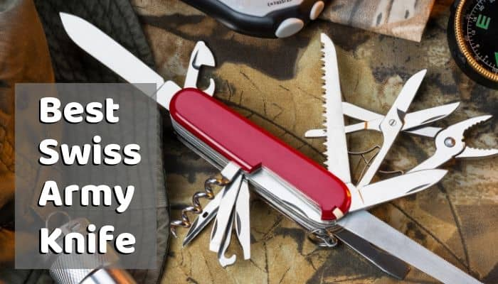 Best Swiss Army Knife Victorinox Multi Tools For Outdoorsman