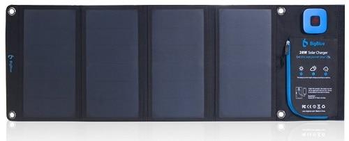 BigBlue Foldable Dual USB Solar Panel