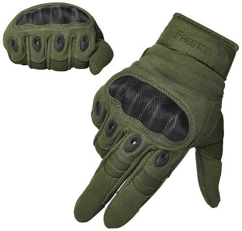Freetoo Hard Knuckle Tactical Gloves