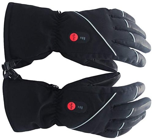 Savior Heated Gloves with Rechargeable Battery
