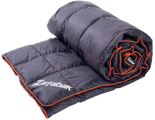 Zefabak Down Blanket for Camping