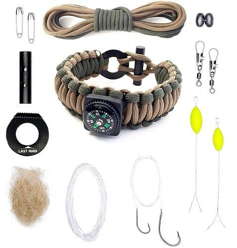 Paracord Survival Kit Bracelet