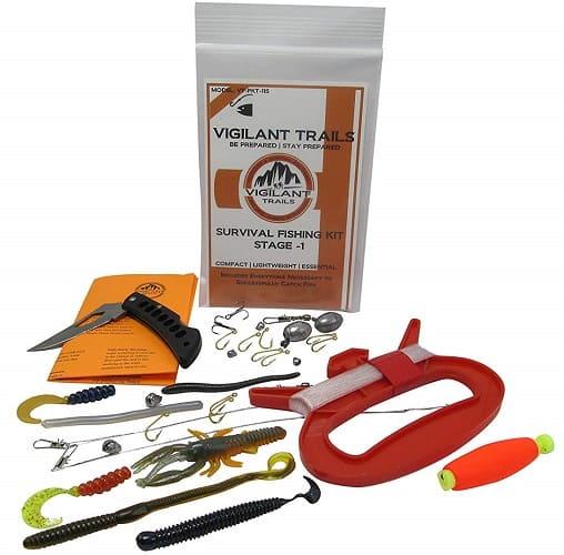Vigilant Trails Pocket Survival Fishing Kit