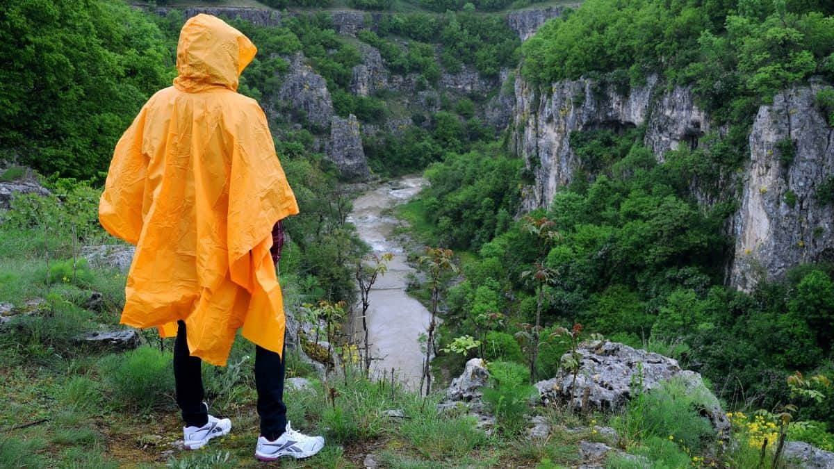 Best Rain Poncho for Hiking Featured