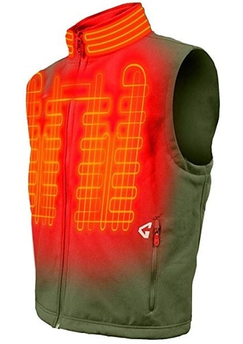 Gerbing Softshell Vest Battery Heated Clothing