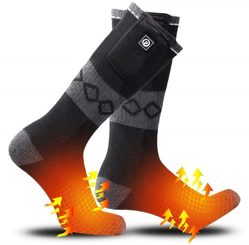 Sunwill Heated Socks for Hunting
