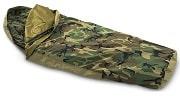 Tennier Woodland Camouflage Waterproof Bivy Small