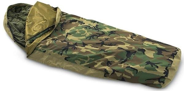 Tennier Woodland Camouflage Waterproof Bivy