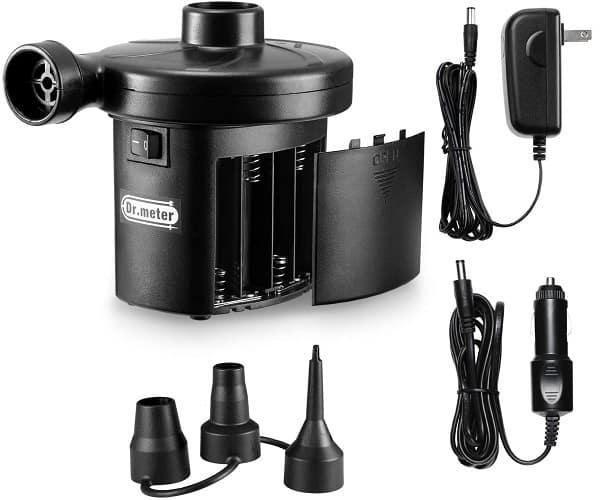 Dr Meter Battery Air Mattress Pump