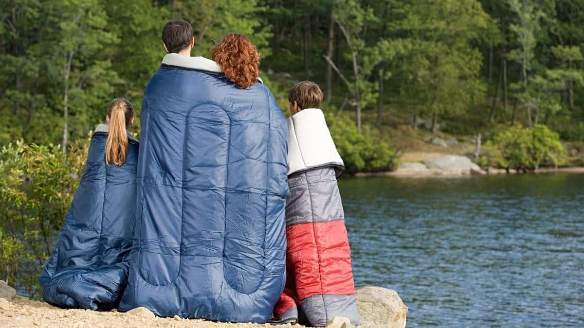 Best Double Sleeping Bag Featured