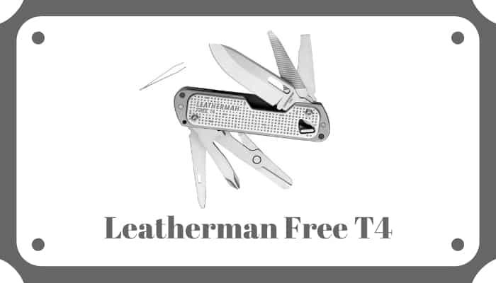 Leatherman Free T4 Review